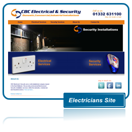CBC Electrical & Security Website