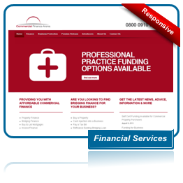 Commercial Finance Arena Website
