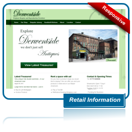 Derwentside Home Centre Website