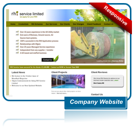 RHI Services Website