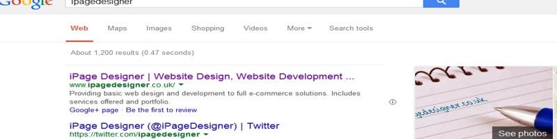 Google iPageDesigner Web designer